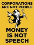Corps not people & Money not speach