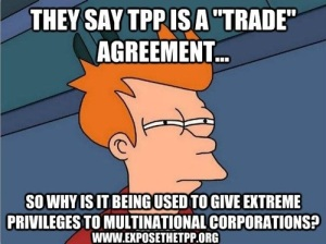 TPP - Corporate welfare