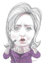 Hillary - sketch
