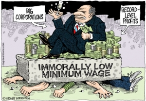 Wages - Immoral Min Wages