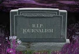 Journalism - Death of
