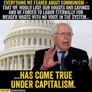 Bernie on capitalism